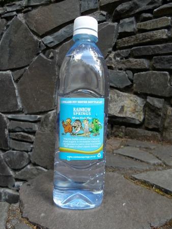 Rainbow Springs water bottle, Rotorua, NZ