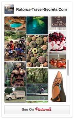 Rotorua Travel Secrets Pinterest Board Screenshot