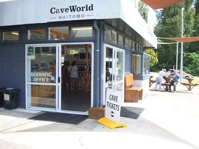 CaveWorld Waitomo Headquarters