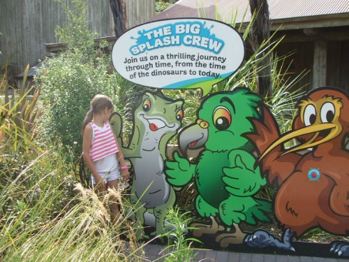 The Big Splash Crew sign at Rainbow Springs