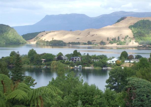 Lake Okareka, Rotorua - view from Summit Rd