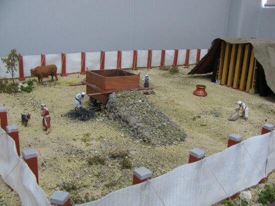 Bibleworld's Tabernacle model