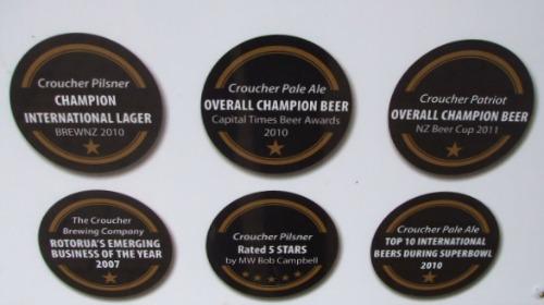 Rotorua Pubs - Brew awards