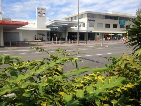 Amohau (Cityside) St entrance to Rotorua Central Mall