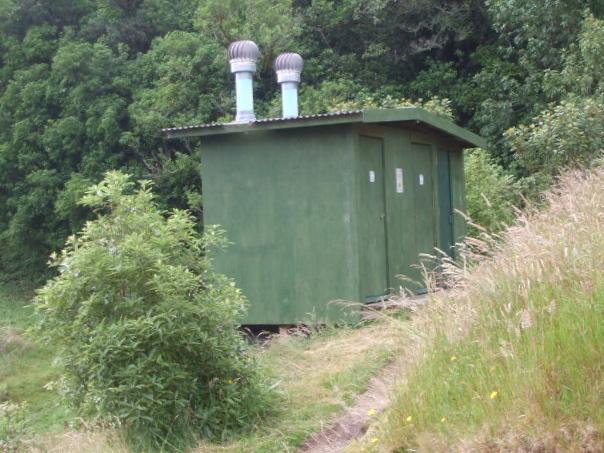 Eco toilets for the Mount Ngongotaha walks at Rotorua, NZ