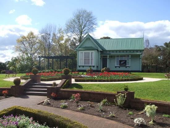 Gardeners Cottage at Government Gardens, Rotorua, NZ