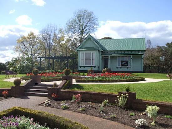 Gardeners Cottage at Government Gardens, Rotorua, NZ