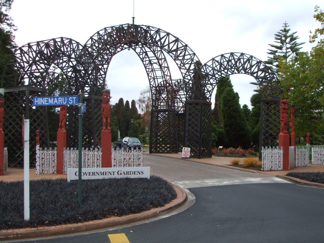 Prince's Arch & Gateway at Government Gardens, Rotorua, NZ
