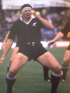 Buck Shelford and All Blacks Haka -