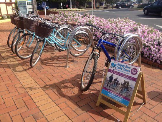 Getting around Rotorua the easy way - Happy Ewe bicycle hire