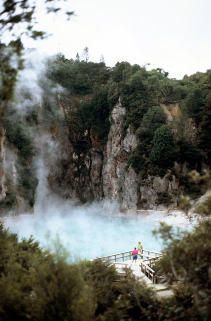 Inferno Crater at Waimangu Valley -  Image courtesy of © WVV