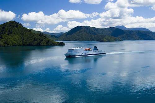 Interislander ferry Kaitaki