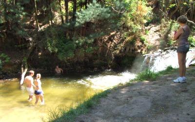 Kerosene Creek, Rotorua, NZ - Natural hot springs pool