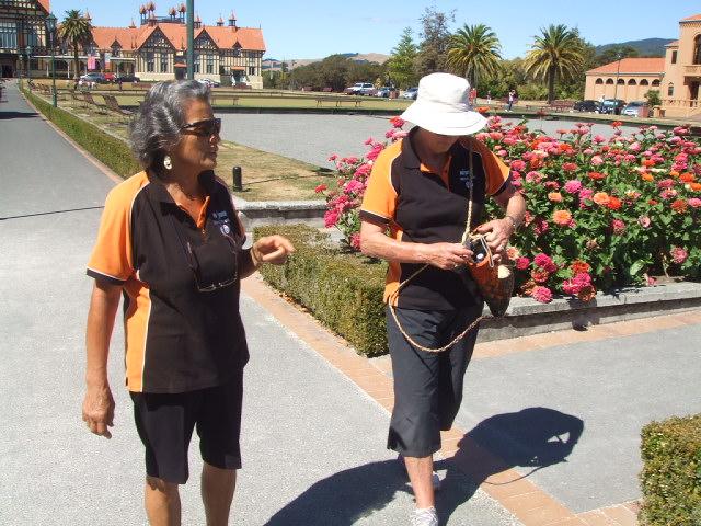 Kia Ora walks at Rotorua, NZ