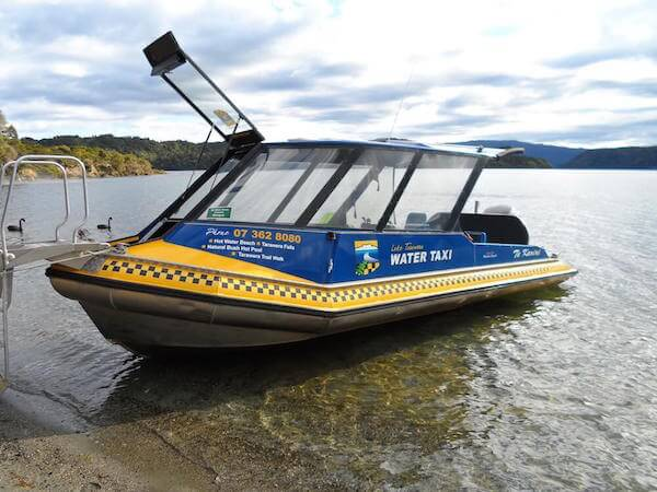 Lake Tarawera Water Taxi
