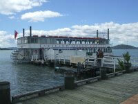 Lakeland Queen Paddle Steamer, Rotorua, NZ