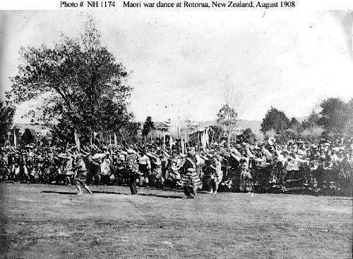 Māori Haka Welcome To Great White Fleet