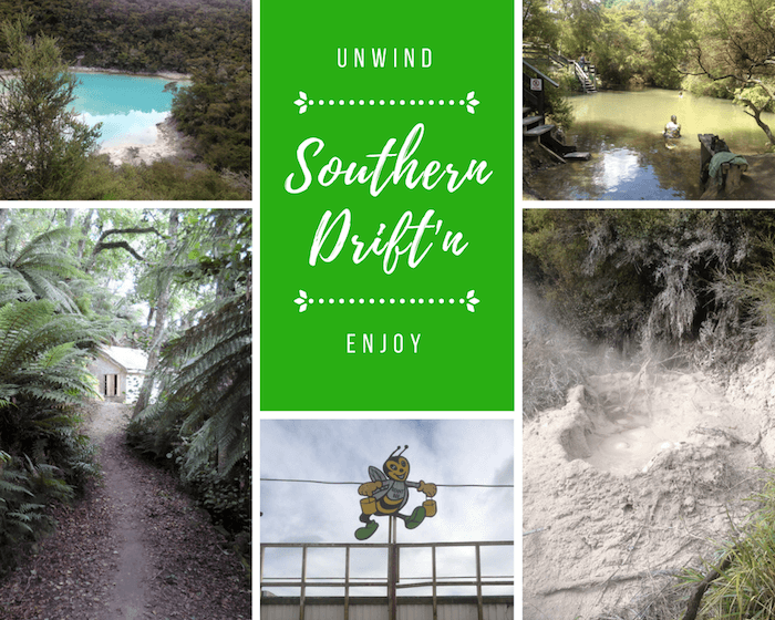 Rotorua Southern Drift'n Tour Guide Itinerary for Friends