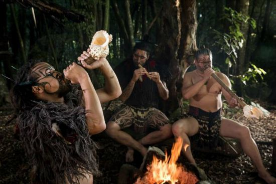 Tamaki Māori Village musical demonstration