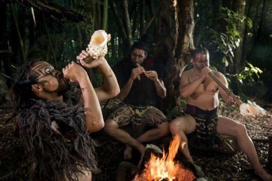 Tamaki Māori Village musical demonstration