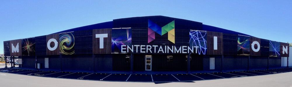 Motion Entertainment building