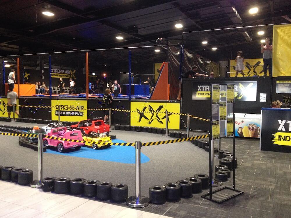 Xtreme Air trampolines & mini cars