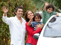 New Zealand car rental - family