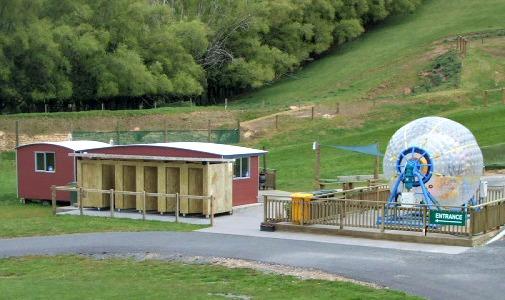 OGO site and Fishpipe in Rotorua, N