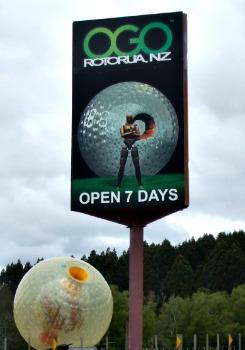 Ogo Rotorua sign