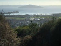 View over Rotorua from the south.