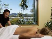 Polynesian Spa massage, Rotorua, NZ