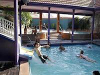 Polynesian Spa family pool, Rotorua, NZ