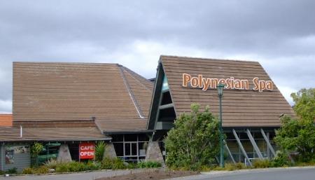 Polynesian Spa building, Rotorua, NZ