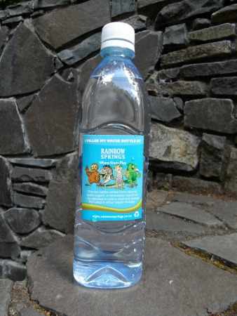 Rainbow Springs water bottle, Rotorua, NZ