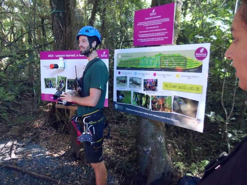 A Rotorua Canopy Tours Eco Adventure