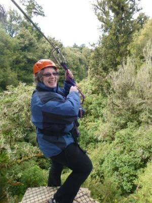 Rotorua Canopy Tours - Friend Julie