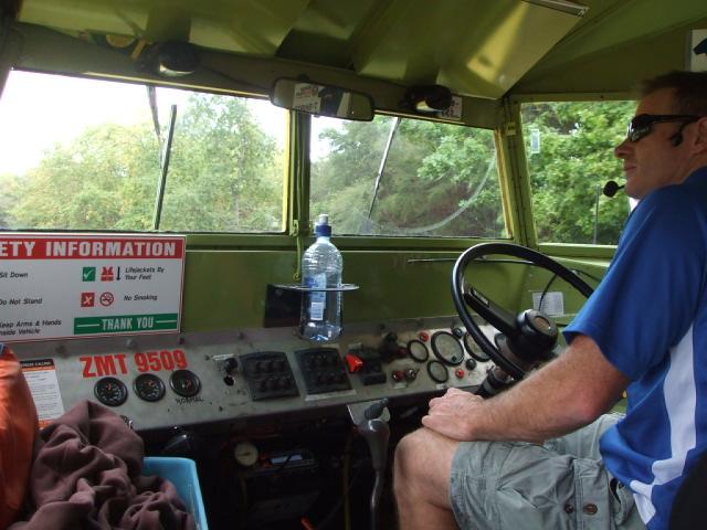 Our Rotorua Duck Conducktor, Peter.