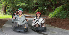 © the.young66 - Rotorua Luge in action.