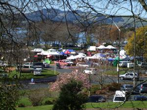 Rotorua Markets - The Craft Market held at the Soundshell