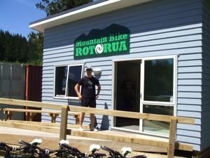 Rotorua Mountain Biking - Tu at Mountain Bike Rotorua