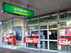 Rotorua, NZ, outdoor stores - Kathmandu