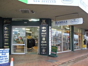 Rotorua Outdoor Gear Stores - Hamill's Hunting & Fishing
