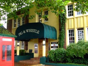 Rotorua pubs - The Pig & Whistl