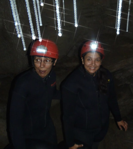 Waitomo cave tubing - scared out of my wits