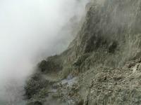 Steaming cliffs atHells Gate Rotorua