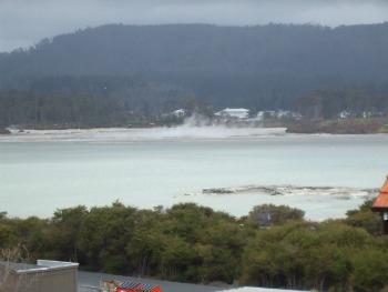 Sulphur Point, Rotorua - Sulphur Ba