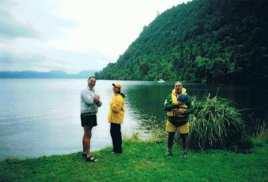 The Outlet at Lake Tarawera