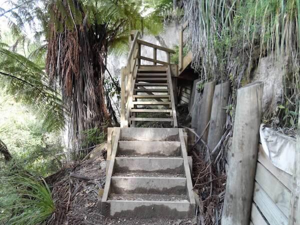 Steps on the Tarawera Trail