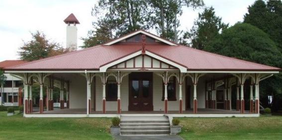 Te Runanga Tea House - Government Gardens, Rotorua, NZ
