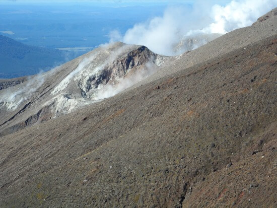 Te Māri Craters on Mt Tongariro, New Zealand.